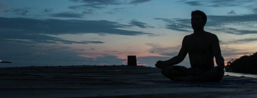 Abendsonne - Yoga unter freiem Himmel