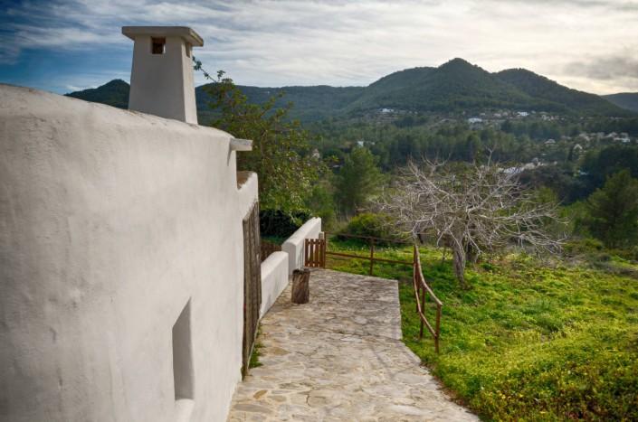 Blick ins Tal - Ibiza 2015