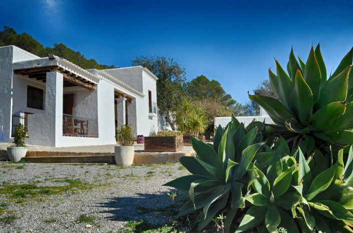 Aussenanlage Ibiza Yoga Retreat